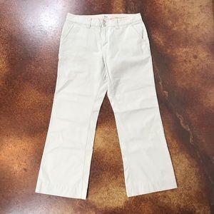 Bass 12 wide leg khaki pants